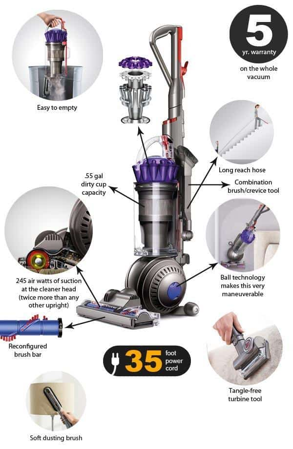 Dyson DC65 Animal Features