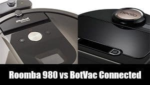 neato botvac connected vs roomba 980 comparison and review. Black Bedroom Furniture Sets. Home Design Ideas