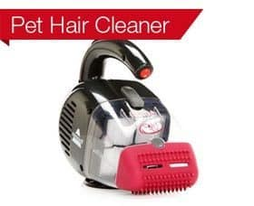Pet Hair Cleaner: Bissell Corded Pet Hair Eraser 33A1